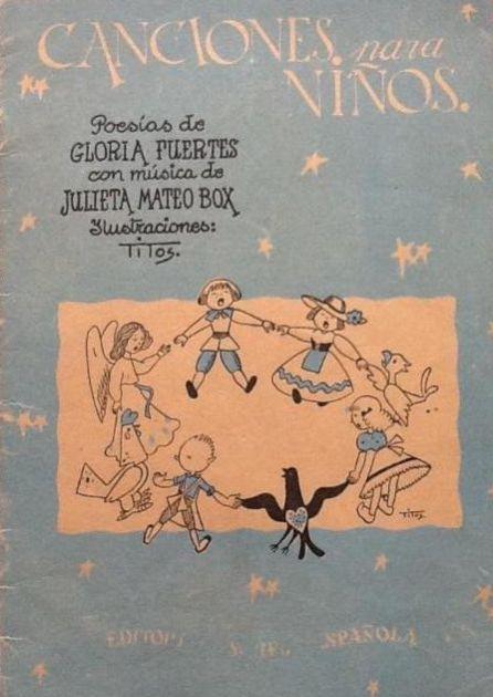 Portada de 'Canciones para niños'.