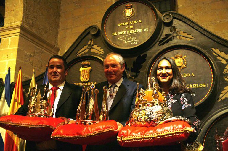 Presentación oficial de los encargados de encarnar a los Reyes Magos en Jerez