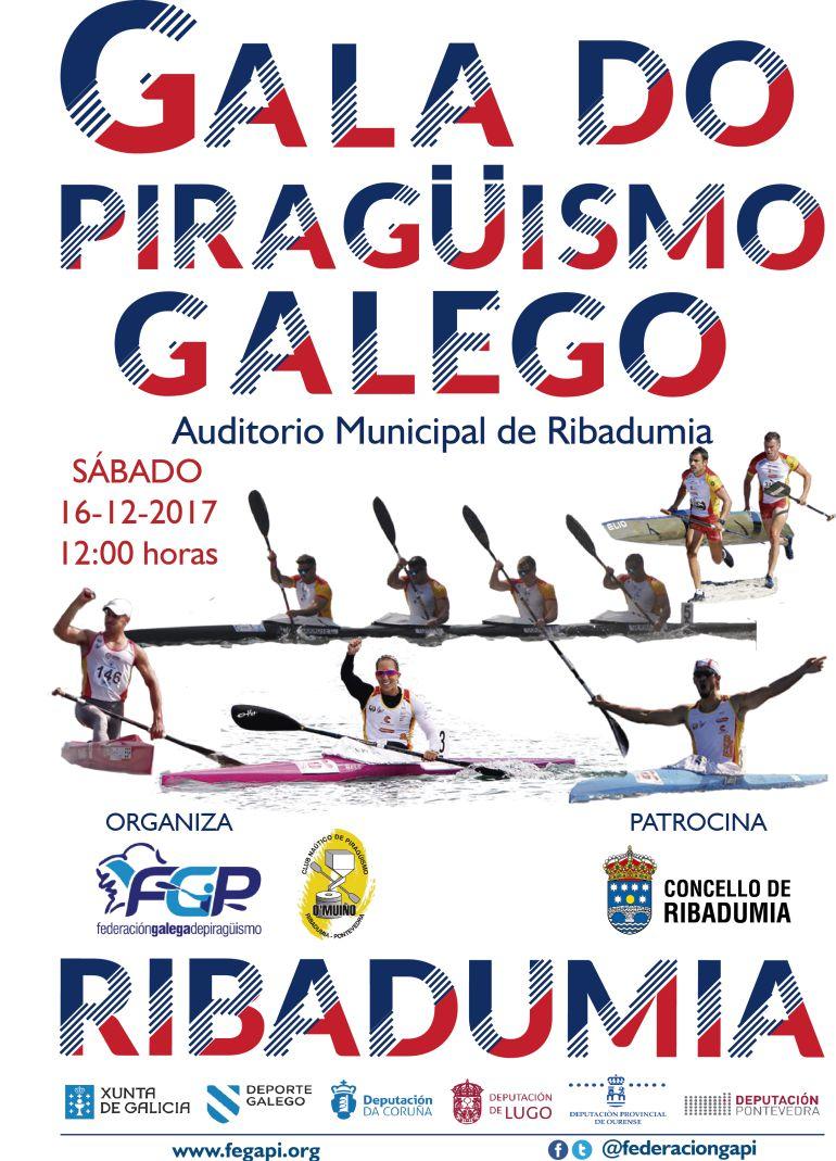 Premios Piragüismo 2017, Mejor Regata Organizada, Club Fluvial de Allariz, Mejor Medio de Comunicación,Radio Ourense Cadena Ser