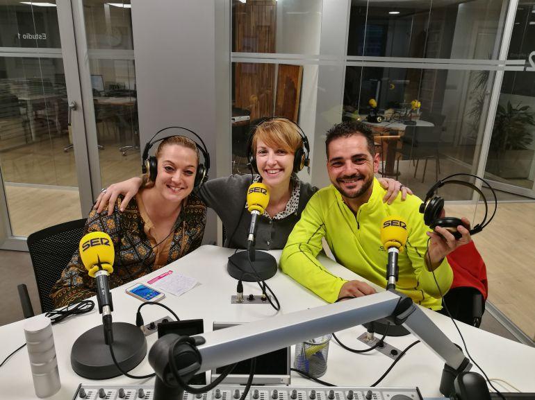 Ágela Rivas, Cristina Martín, Lolo Villalibre