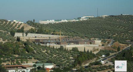 Estado actual de las obras del Centro Hospitalario de Alta Resolución de Cazorla (CHARE)