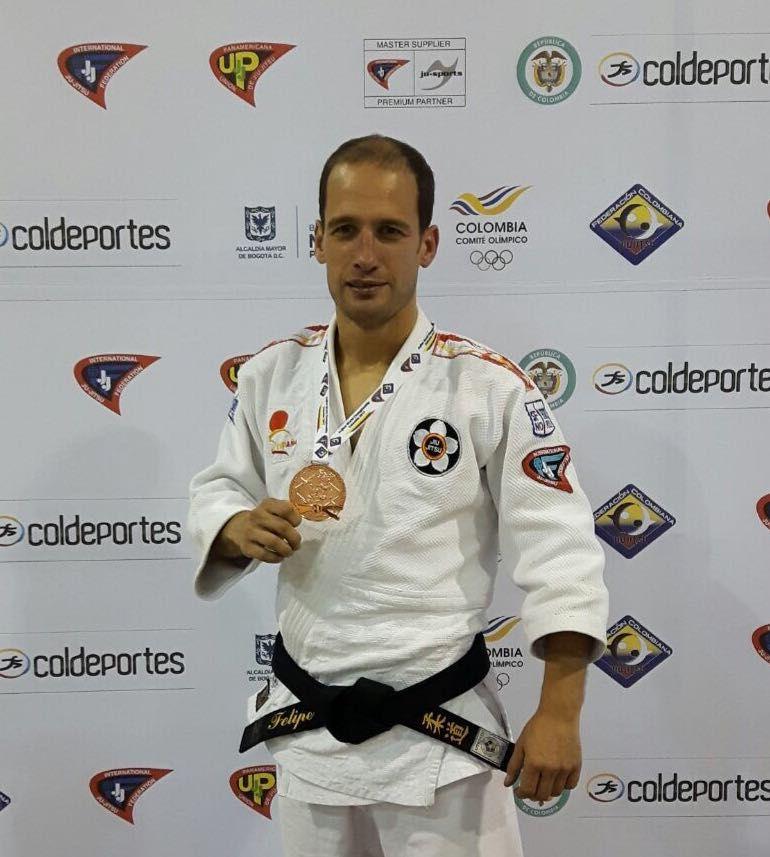 Felipe Iglesias, bronce en el Mundial de Jiu Jitsu 2017