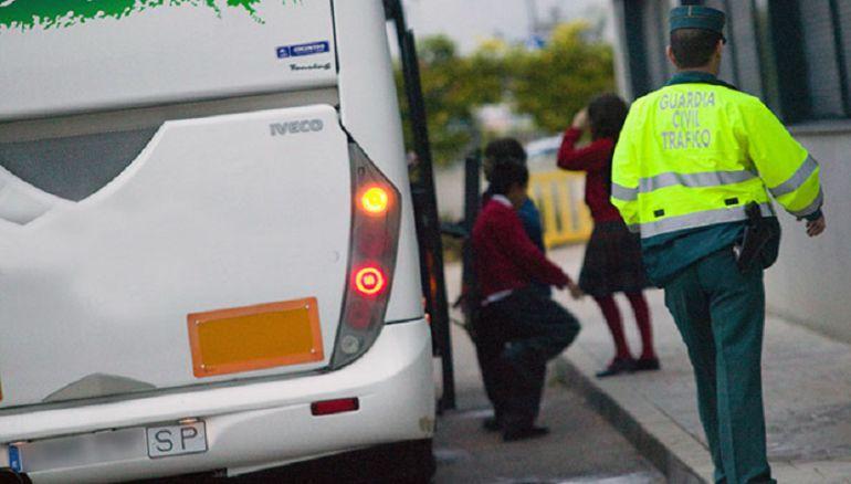 Otro conductor de transporte escolar, positivo por consumo de drogas en Salamanca