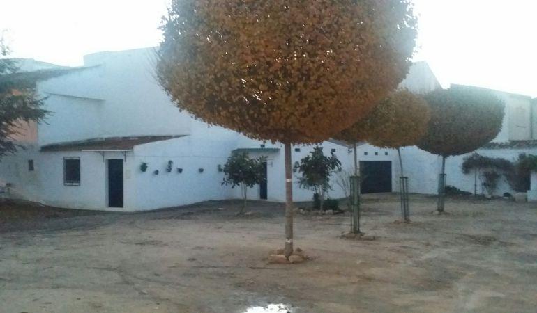 Instalaciones de Cáritas en Porcuna