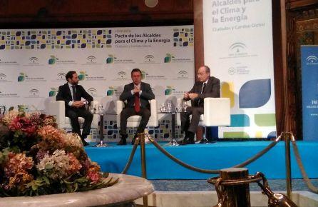 Debates sobre el clima y la energia donde se han comprometido un gran número de alcaldes de Andalucía