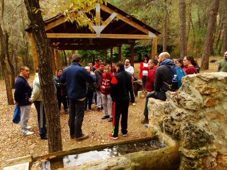 El área recreativa de La fuente de los Cerezos ha servido como epicentro para la actividad