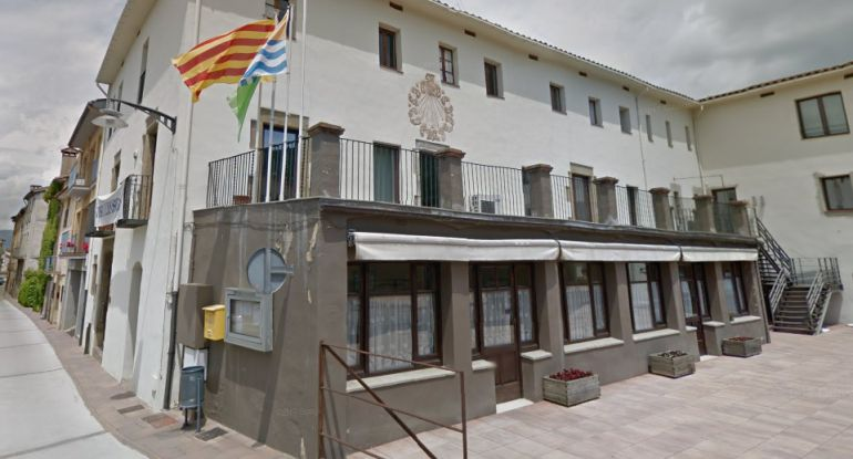 Una imatge de l'Ajuntament de Les Preses.