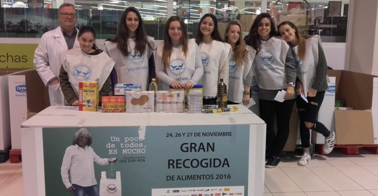La gran recogida de alimentos madrid 2017