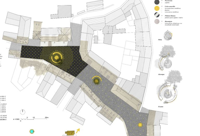 Proyecto de remodelación integral de la plaza de Villamoros de Mansilla