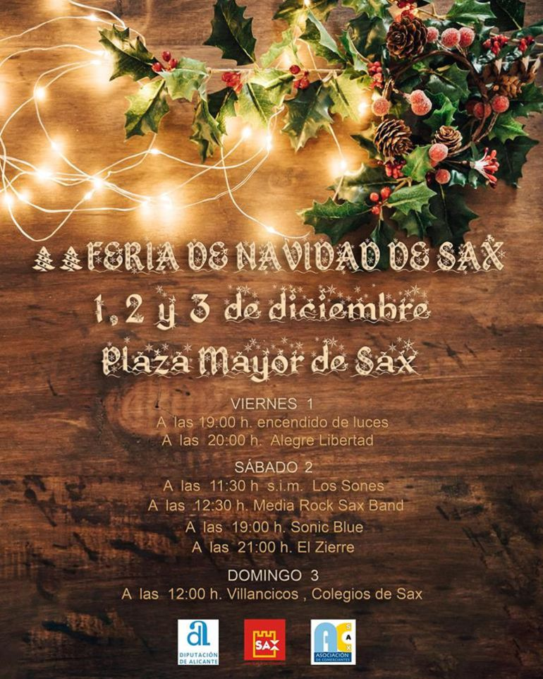 Feria de Navidad en Sax