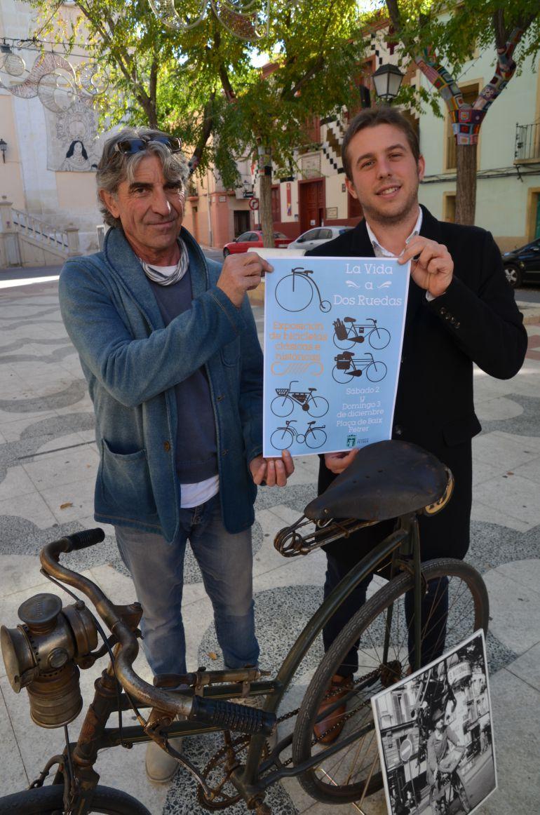 Exposición bicis antiguas en Petrer