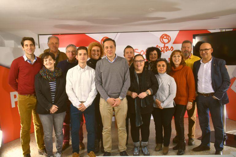 La Comisión Ejecutiva del PSOE de la capital ha sido renovada en un 70%.