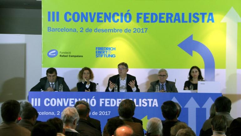 Ximo Puig en la III Convenció Federalista