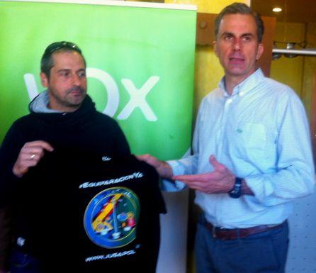 Con Vox en Ponferrada