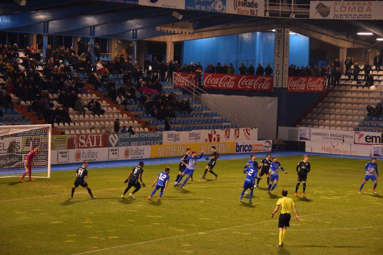 El conjunto berciano le dió la vuelta al marcador gracias a los goles de Yuri.
