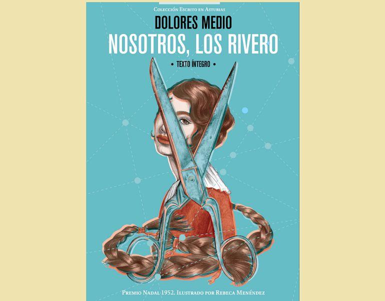 Portada de la nueva edición de 'Nosotros, los Rivero' en Libros de la Letra Azul,