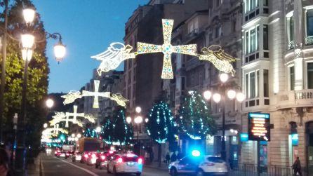 Oviedo se ilumina por Navidad