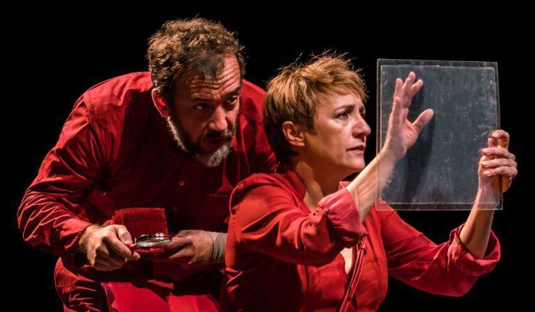 Blanca Portillo y José Luis García-Pérez en El Cartógrafo
