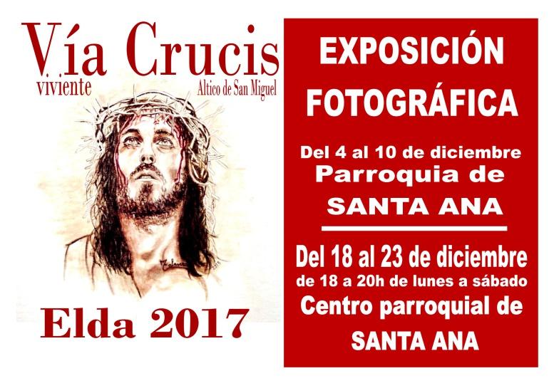 La exposición se inaugura esta tarde a las 17 h en el templo de Santa Ana.