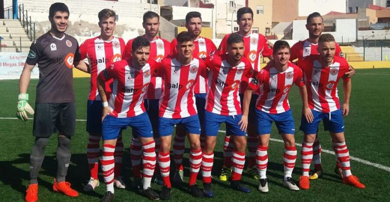 Formación inicial de la UDC Torredonjimeno en un partido anterior de esta temporada.