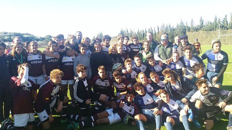 Imagen del `No sin rugby fest´disputado en Montecastillo
