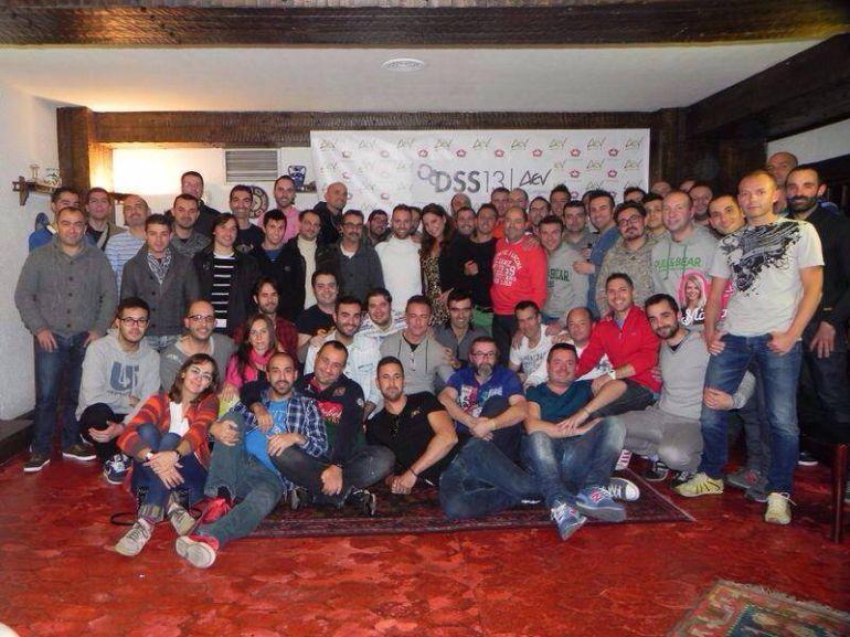 Integrantes de la Asociación de Eurovisivos de España que se reunirán en Medina del Campo