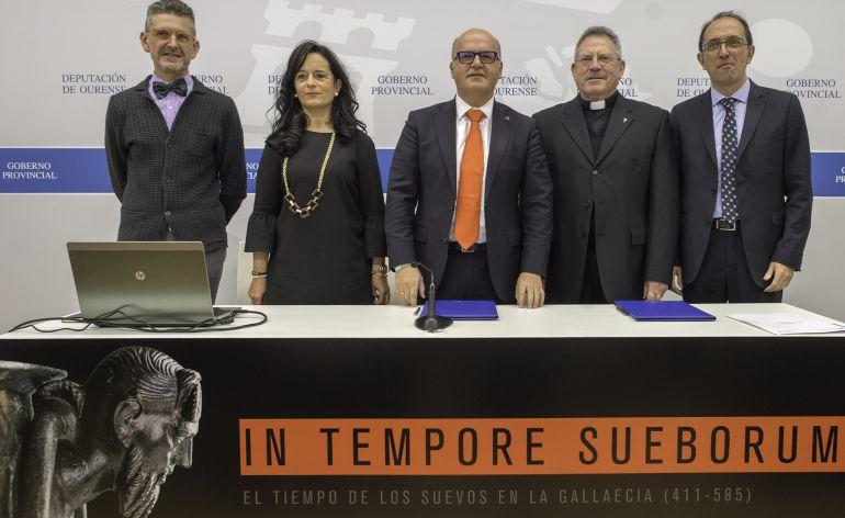 La presentación de la exposición en el Marcos Valcárcel