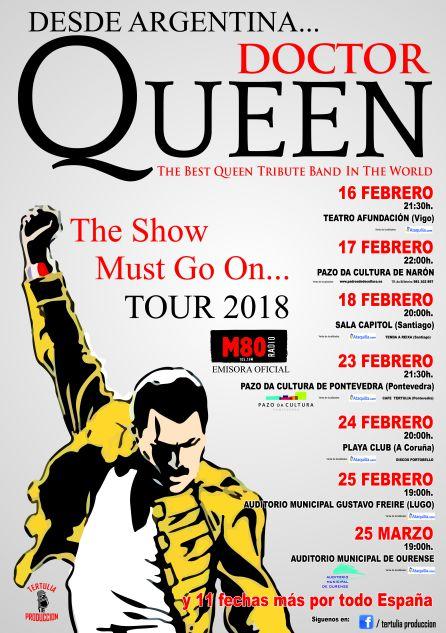 Doctor Queen de gira por Galicia en 2018: Doctor Queen, ¿tributo o realidad?