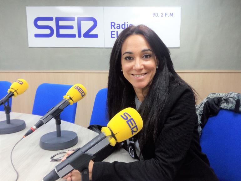 Celia Carbonell, abogada, en Radio Elda SER, en Vinalopó hoy por hoy