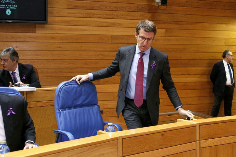 Feijoo culpa al PSOE de la subida del peaje en la AP-9