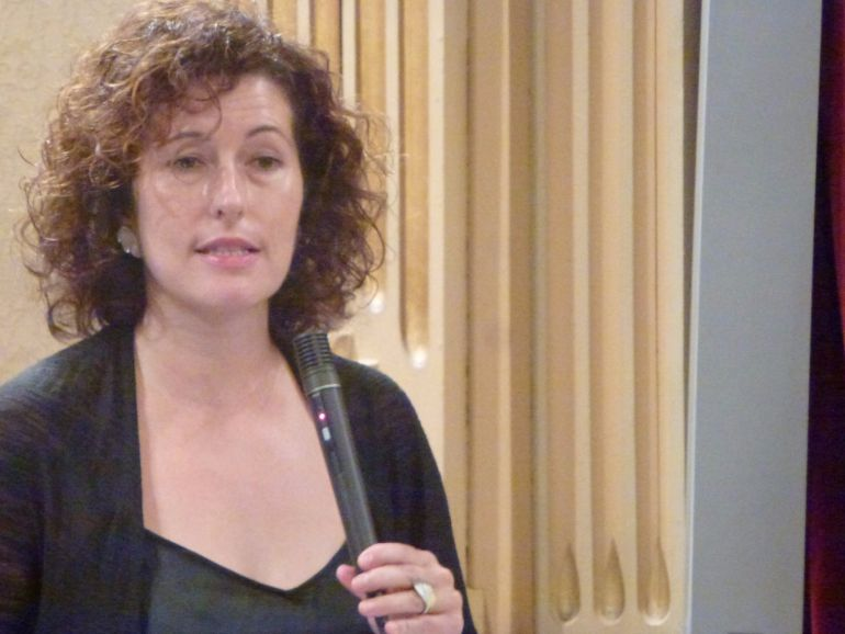 Silvia Tur en una intervención en el Parlament