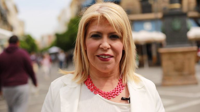 Mamen Sánchez, alcaldesa de Jerez