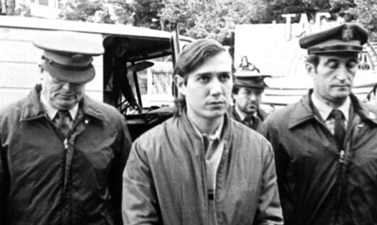 Vidal Anido a su entrada a la Audiencia Provincial de Lugo para ser juzgado en 1987 (archivo)