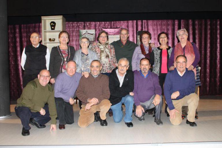 Componentes del grupo de teatro 'Tempus Gaudi'