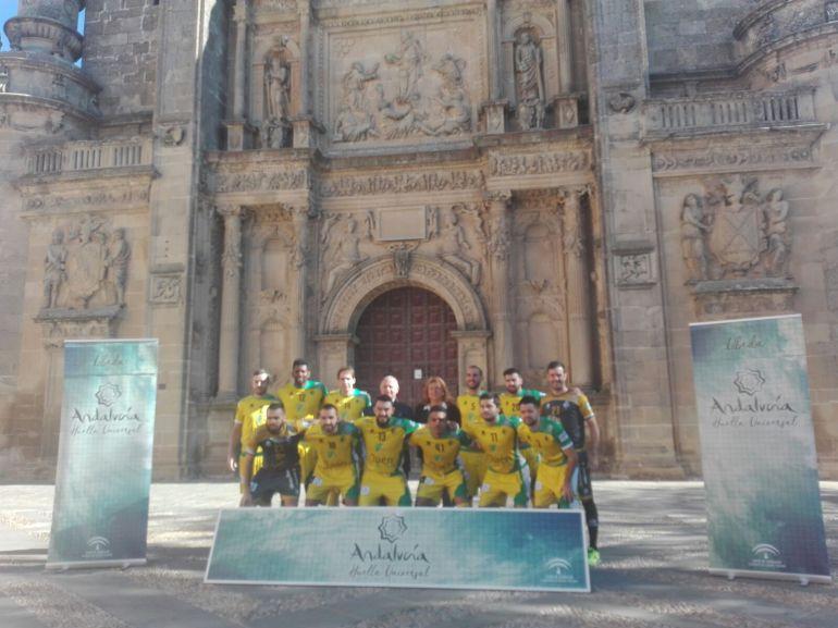 El Jaén Paraíso Interior FS participa en el proyecto 'Andalucía, Huella Universal'