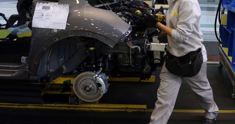 Imagen de archivo de la cadena de Montaje de Renault