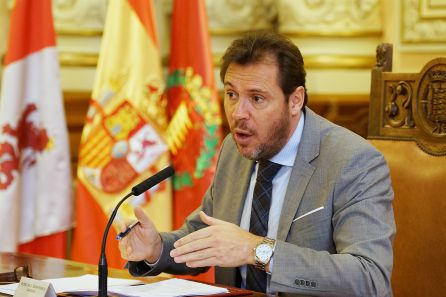 Óscar Puente tras la Junta Local de Gobierno