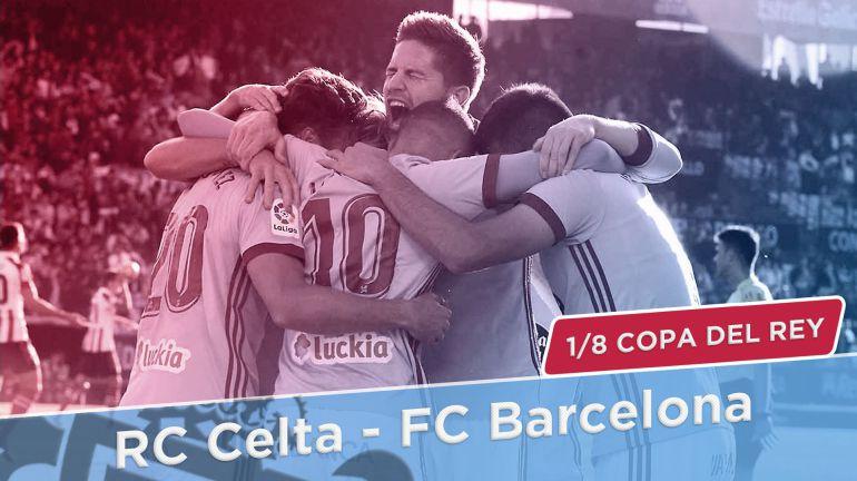 El Celta conoce a su rival de octavos de Copa del Rey