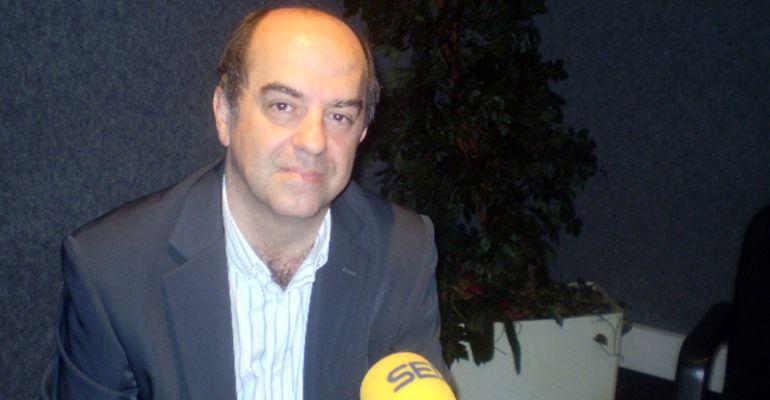 El portavoz de Ciudadanos en Colmenar Viejo en los estudios de SER Madrid Norte