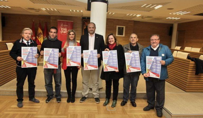 Presentacióin de la VII Campaña de Deporte Solidario en el municipio