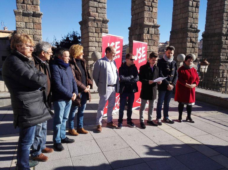 Acto convocado por Juventudes Socialistas en el aniversario de la Constitución Española.