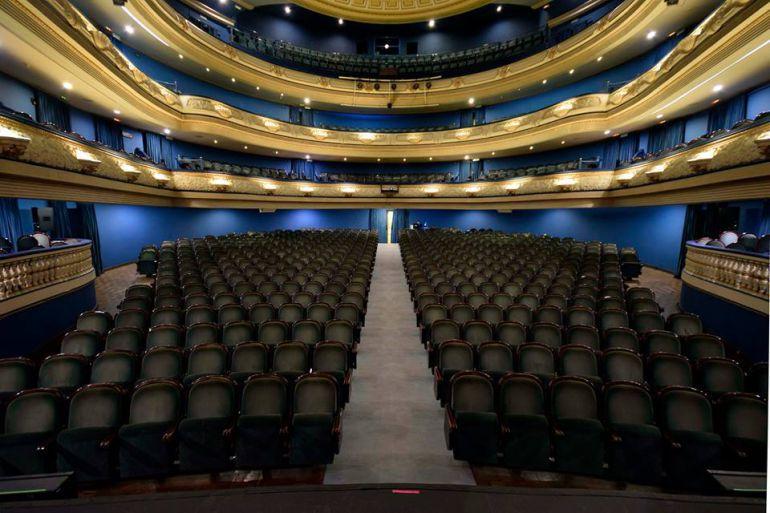 Imagen del interior del Teatro Principal de Alicante