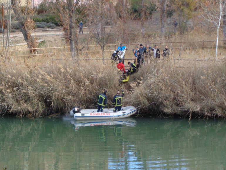 El cadáver fue arribado en la zona conocida como 'El Picón', en la confluencia entre el Duero y el Arandilla