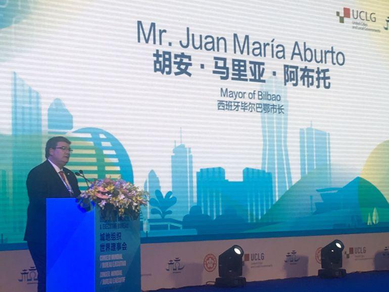 Bilbao participa en China en el Consejo Mundial de Ciudades: Bilbao participa en China en el Consejo Mundial de Ciudades