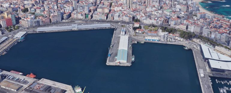 Puerto urbano de A Coruña