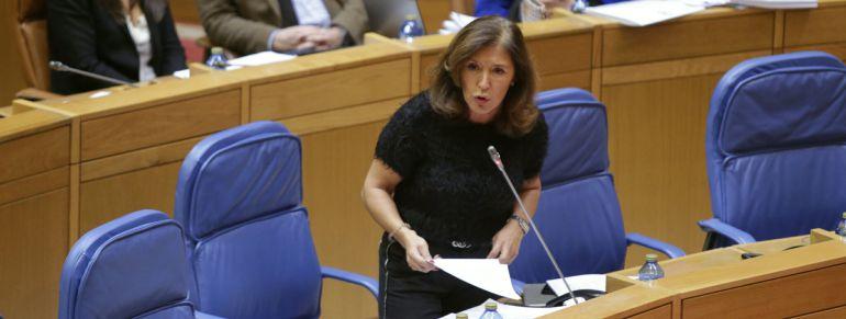 Beatriz Mato en el Parlamento de Galicia
