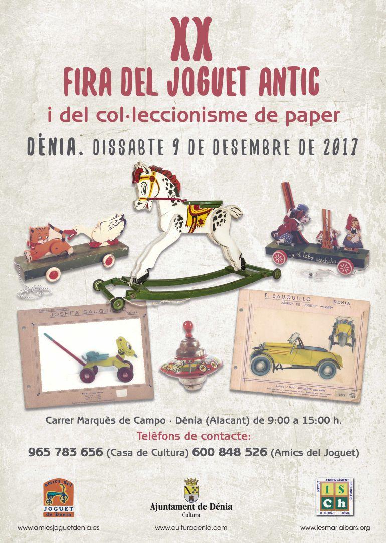 XX Feria del Juguete Antiguo en Dénia