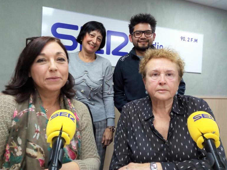 Celia, Marifé, Ana y Gustavo, voluntarios en distintas asociaciones, en el programa Vinalopó hoy por hoy