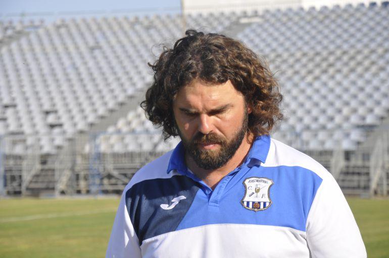 Jua Pedro Ramos, entrenador del Jerez Industrial C.F