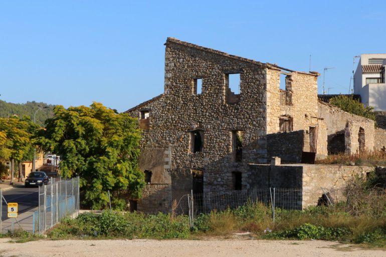 El Molí. Edificación a restaurar y convertir en Aula de Cultura.